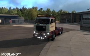 Volvo F88 + Custom BDF trailer ownership for ATS 1.32+