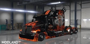 Wester Star 5700 Optimus Prime 1.4 for ATS Software Version: 1.3.h, 3 photo