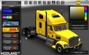 Freightliner Coronado. Modified + Skins + Trailer (1.31), 5 photo