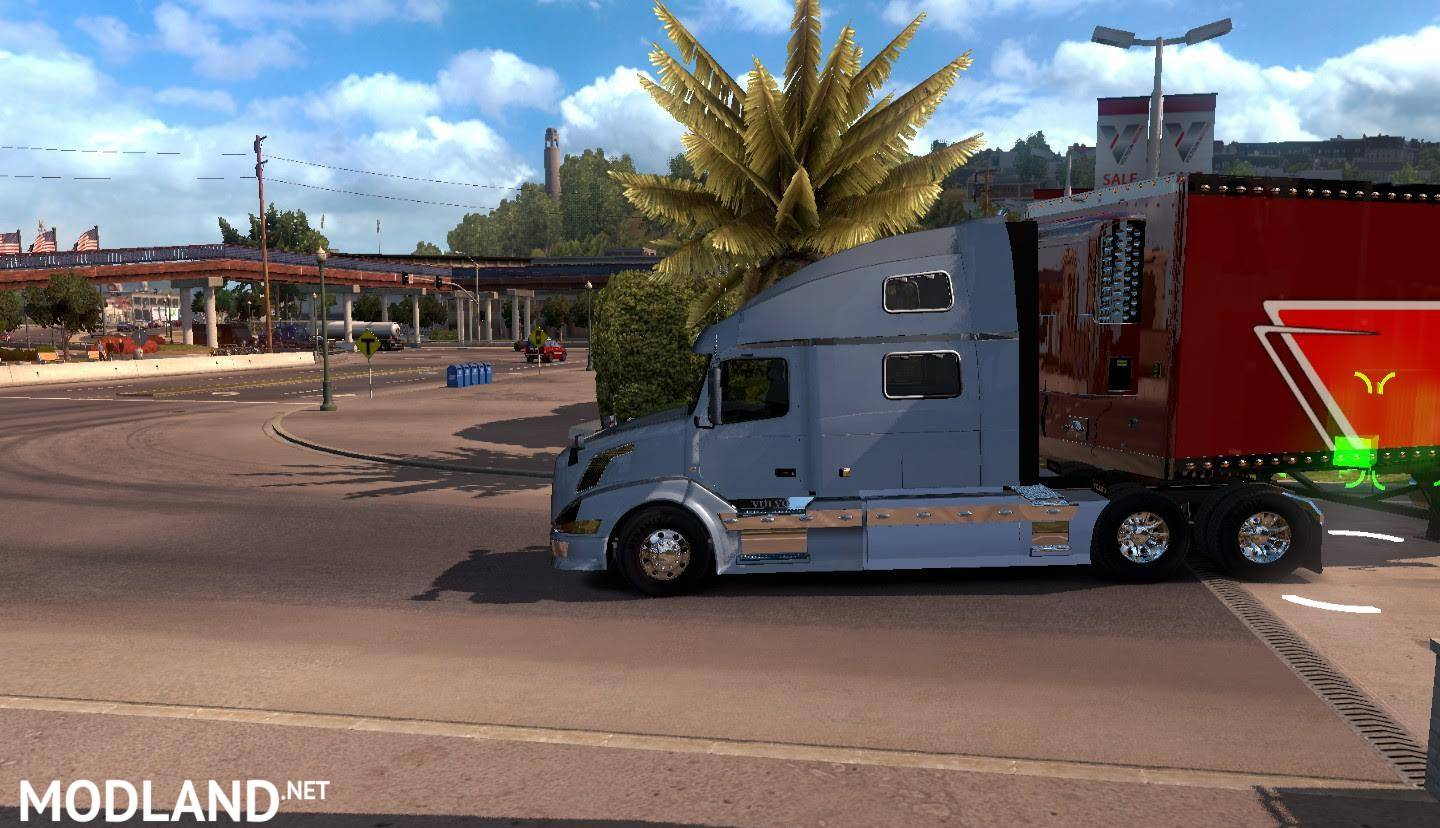volvo vnl 780 reworked v2.8 ats mod for american truck simulator, ats