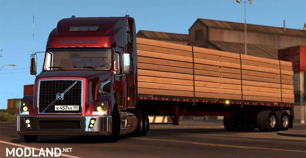 Volvo Vt880 Mod For American Truck Simulator Ats
