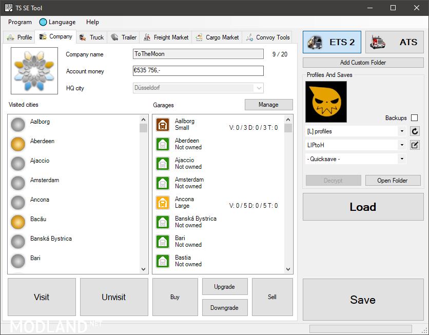 TS SaveEditor Tool | 0.2.4.0