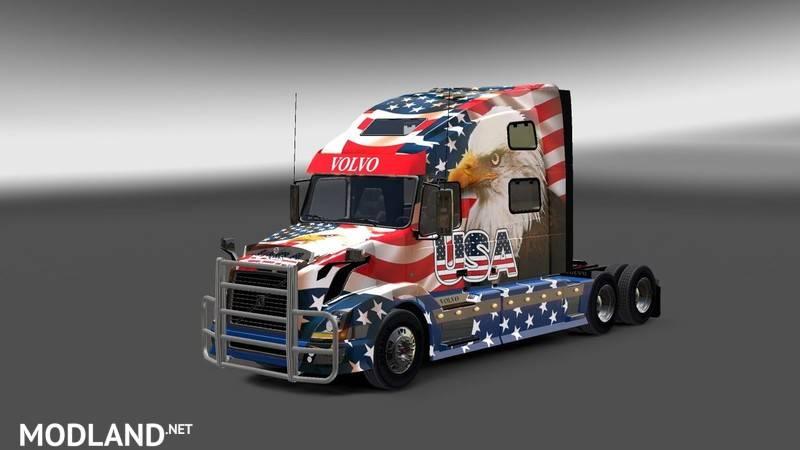 Volvo Vnl Accessories >> Volvo VNL 780 v 1.0 mod for American Truck Simulator, ATS