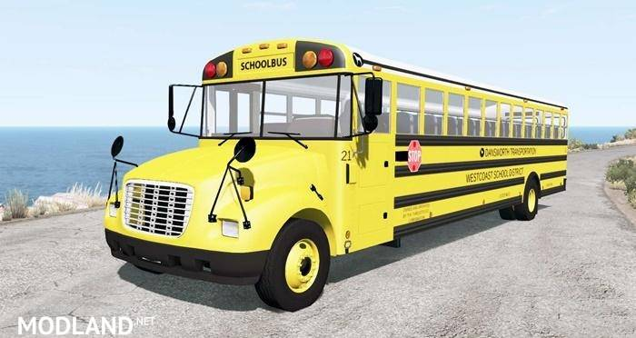 Dansworth D1500 (Type-C) School Bus