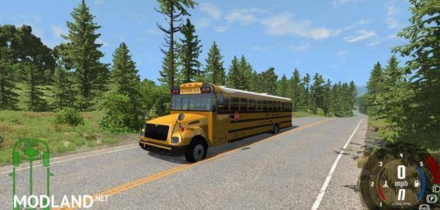 Blue Bird American School Bus Mod