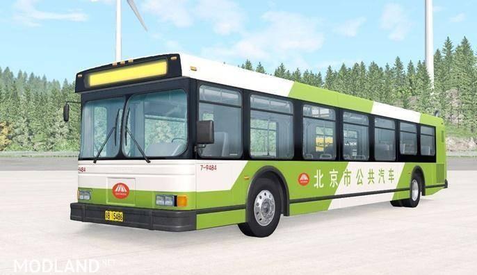 Wentward DT40L Green Beijing Bus Mod