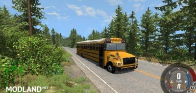 Blue Bird American School Bus Mod, 2 photo