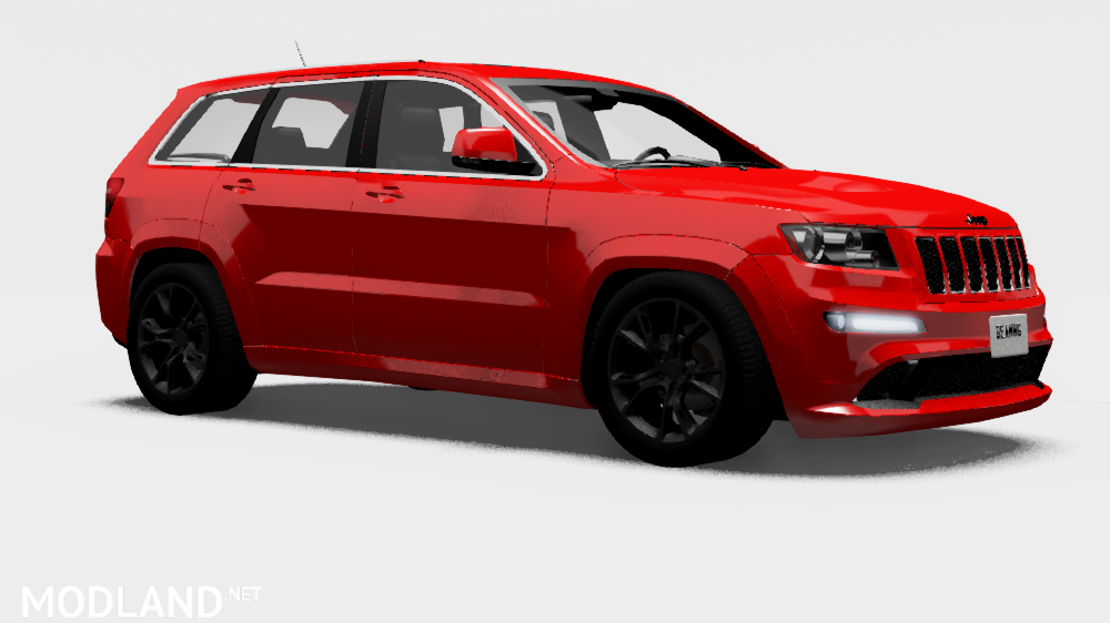 Jeep Grand Cherokee For BeamNG.Drive