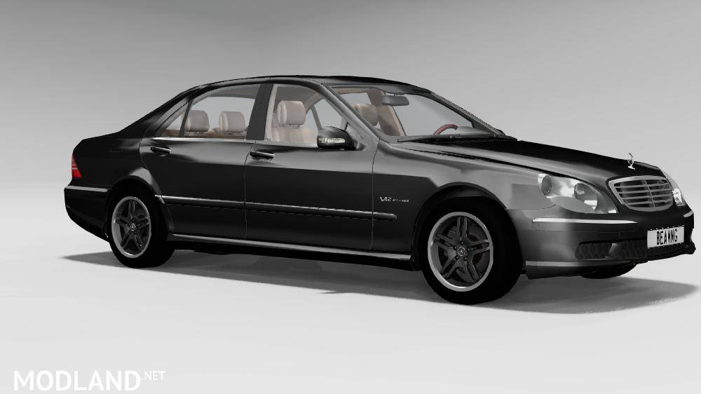 Mercedes Benz W220 For BeamNG.Drive