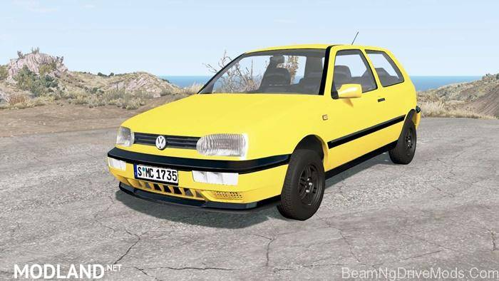 Volkswagen Golf 3-Door (Typ 1H) 1995