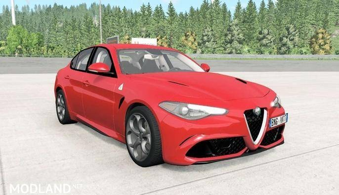 Alfa Romeo Giulia Quadrifoglio (952) Car [0.16]