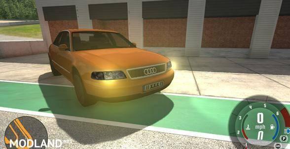 Audi A8 Car Mod