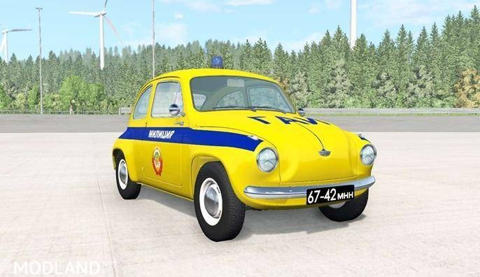Autobello Piccolina Police Car