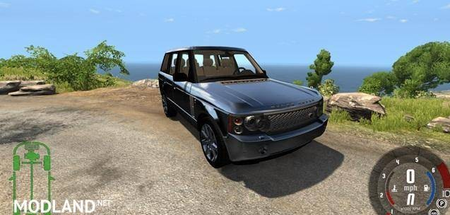 Range Rover Supercharged 2008 Model