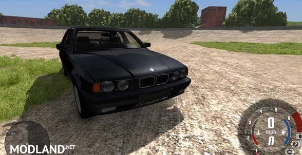 BMW 525 E34 Car Mod