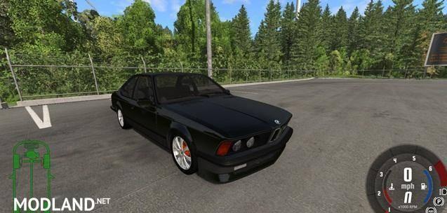 BMW E24 M6  Car Mod
