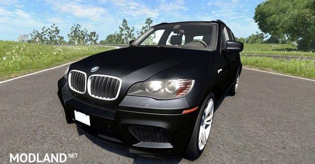 BMW X5M Black Car Mod [0.6.1]