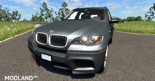 BMW X5M Grey Car Mod [0.6.1]