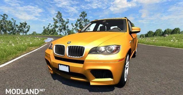 BMW X5M Orange Car Mod [0.6.1]