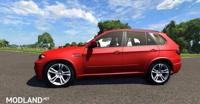 BMW X5M Red Car Mod [0.6.1]