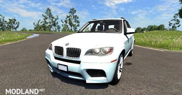BMW X5M White Car Mod
