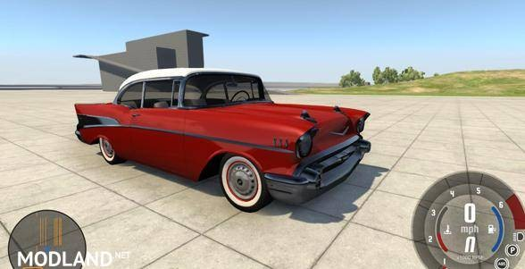 Chevrolet Bel Air Coupe 1957 Car Mod
