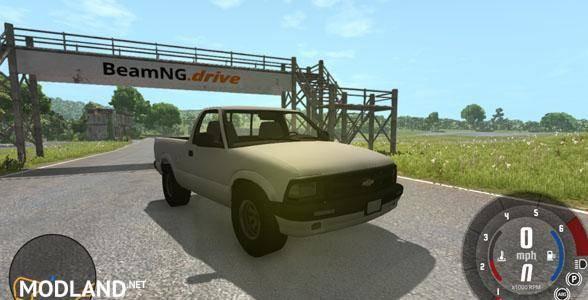 Chevrolet S-10 Draggin 1996 Pickup Mod