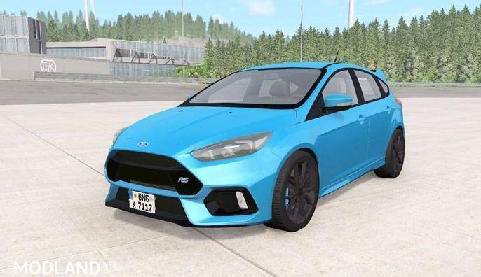 Ford Focus RS (DYB) 2016