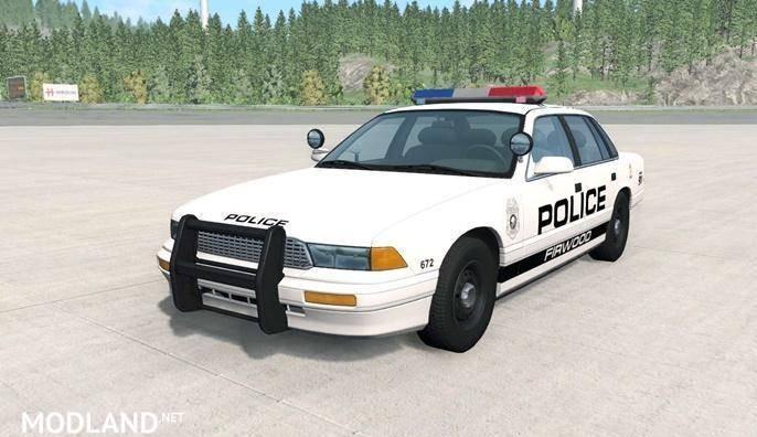 Gavril Grand Marshall Firwood Police Car Mod