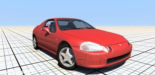 Honda CR-X del Sol Sir Car Mod