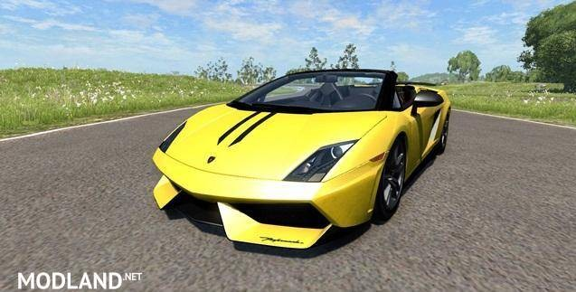 Lamborghini Gallardo LP570-4 Spyder Car Mod