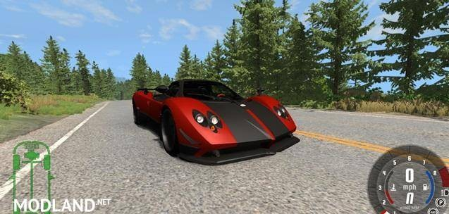 Pagani Zonda Cinque Roadster 2009 Car Mod