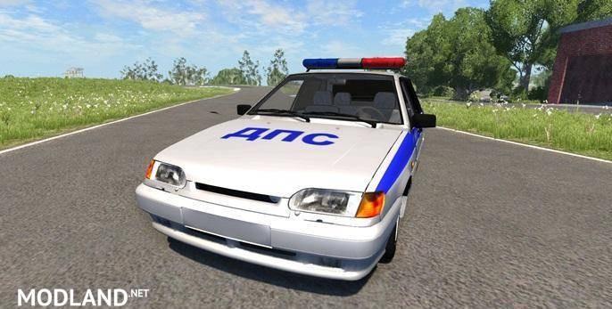Vaz 2115 Police Car Mod [0.7.0]