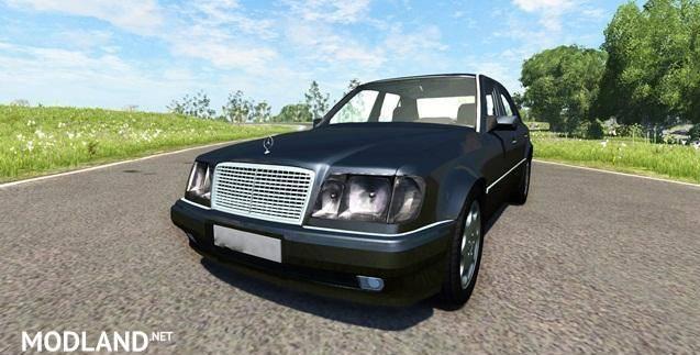 Mercedes-Benz E500 W124 Car Mod