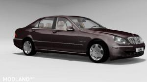 Mercedes Benz W220 For BeamNG.Drive, 3 photo