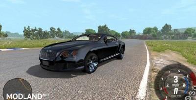 Bentley Continental GT 2011 Model Car Mod