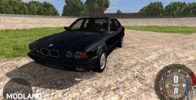 BMW 525 E34 Car Mod, 2 photo