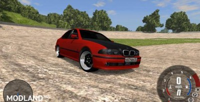BMW 525i Dirft Car Mod, 2 photo