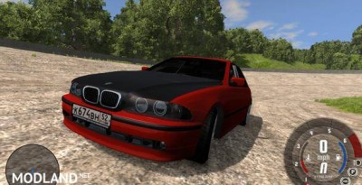 BMW 525i Dirft Car Mod, 1 photo