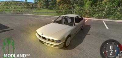 BMW 730i E38 1997 Car Mod, 3 photo