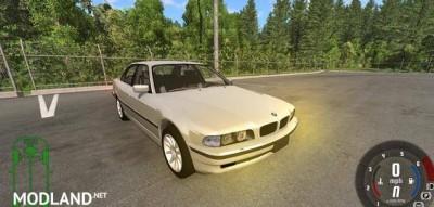 BMW 730i E38 1997 Car Mod, 1 photo