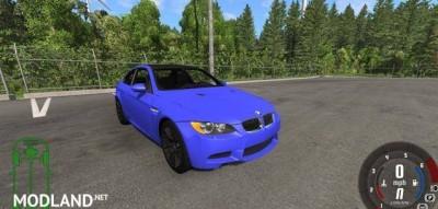 BMW M3 E92 2008 Car Mod