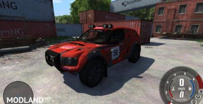 Bowler Nemessis Car Mod, 1 photo