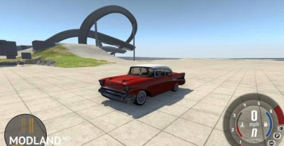Chevrolet Bel Air Coupe 1957 Car Mod, 2 photo