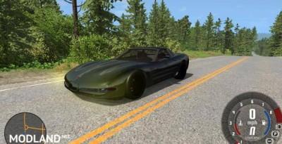 Chevrolet Corvette C5 Car Mod, 2 photo