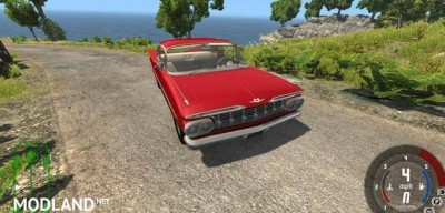 Chevrolet Impala Coupe 1959 Car Mod