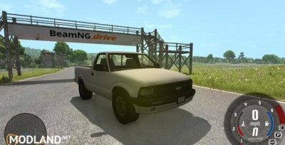Chevrolet S-10 Draggin 1996 Pickup Mod, 1 photo