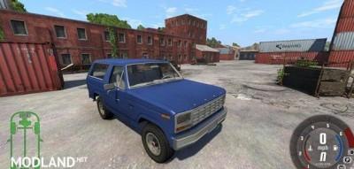 Ford Bronco 1980 Car Mod, 1 photo