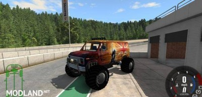 Ford E-250 Monster Car Mod, 2 photo