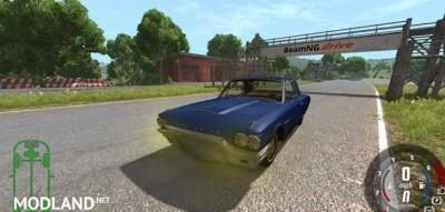 Ford Thunderbird 1964 Car Mod, 1 photo